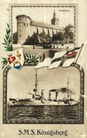 1916   FELDPOST  S M S   SMS KONIGSBERG - Guerre
