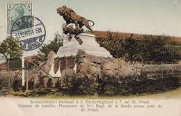 SAINT-PRIVAT LA MONTAGNE - Monument Du 3° Regt. De La Garde Prussienne - Autres Communes