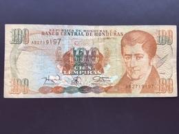 HONDURAS P69 100 LEMPIRAS 12.05.1984 VG - Honduras