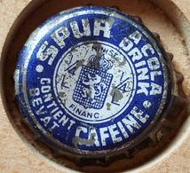 Vieille Capsules Kroonkurk SPUR COLA CAFEINE - Soda