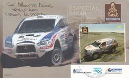 DAKAR ARGENTINA. CIRCULEE 9 DE JULIO(BA) 2009. RARE -BLEUP - Motorsport