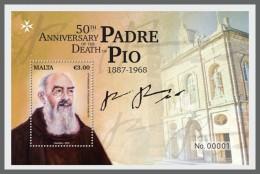 Z08 Malta 2018 Padre Pio MNH ** Postfrisch - Malta (Orden Von)
