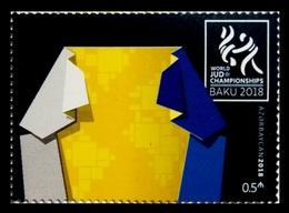 Azerbaïjan 2018 Mih. 1388 World Judo Championships In Baku MNH ** - Azerbaijan