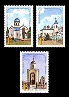 Moldova (Transnistria) 2018 No. 839/41 Churches Of Transnistria MNH ** - Moldawien (Moldau)
