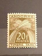 ANDORRE FRANCAIS - Neuf** - Taxe - 1946 - Timbres-taxe