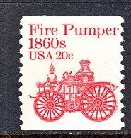 U.S. 1908     **     FIRE  PUMP - Firemen