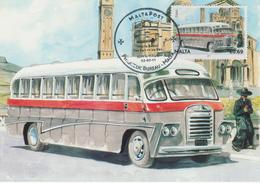 Malta Maximum Card 35 Mi 1684 Buses - The End Of An Era - Bedford SB8 - Gozo - 2011 - Malta