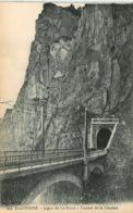 ISERE DAUPHINE LIGNE DE LA MURE TUNNEL DE LA CLAPISSE(scan Recto-verso) KEVREN0467 - Autres Communes