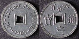 TONKIN 1/600 De PIASTRE 1905 SAPEQUE INDOCHINE PORT OFFERT - Colonies