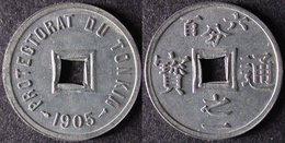 TONKIN 1/600 De PIASTRE 1905 SAPEQUE INDOCHINE PORT OFFERT - Colonias