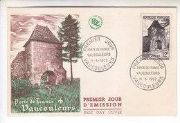 VAUCOULEURS - Timbre 1er Jour - 11 - 05 - 1952 - Sur Carte - 1950-1959