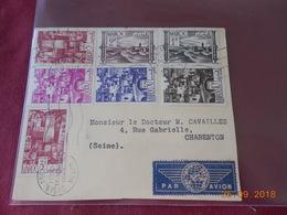Lettre (devant) Du Maroc De 1949 A Destination De Charenton - Maroc (1891-1956)