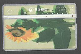 USED PHONECARD FLOWERS - Flowers