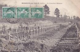 CPA - 02 - MAREUIL En DOLE - Le Cimetière Militaire - 3 - Autres Communes