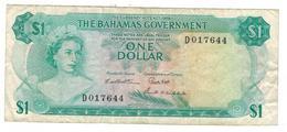 Bahamas 1 Dollar (1965) , F/VF. - Bahamas