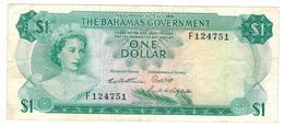 Bahamas 1 Dollar (1965) , VF. - Bahamas