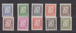 MARTINIQUE      N°  YVERT  :    TAXE  27/36    NEUF AVEC  CHARNIERES      ( Charn   029   ) - Timbres-taxe