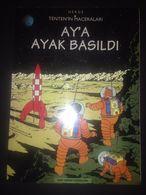 TINTIN - Ay'a Ayak Basildi - TURKISH EDITION On A Marche Sur La Lune - Books, Magazines, Comics
