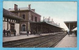 BELFORT Gare Animée (état: Trés Très Bon état) +1806) - Belfort - Ciudad