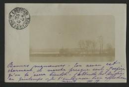 78 MANTES - Inondation 1910 - CPA Photo Du Pont 1910 - Mantes La Ville