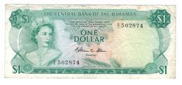 Bahamas 1 Dollar (1974) , VF. - Bahamas