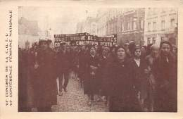 Politique  . N° 50211 . Cgtu.manifestation - Labor Unions