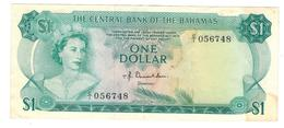 Bahamas 1 Dollar (1974) , XF. - Bahamas