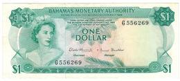 Bahamas 1 Dollar (1968) , XF. - Bahamas