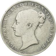 Monnaie, Grande-Bretagne, Victoria, 6 Pence, 1863, TB, Argent, KM:733.1 - 1816-1901 : Frappes XIX° S.