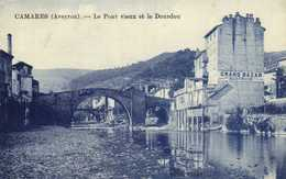 CAMARES (Aveyron) Le Pont Vieux Et Le Dourdou Grand Bazar BertandRV - France