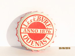 Capsules Ou Plaques De Muselet   BIÈRE  LEFEBVRE QUENAST - Bière