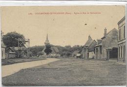 27 COLLANDRES-QUINCARNOU . Eglise De Quincarnou ,édit : Sans, écrite En 1928,état Extra - Other Municipalities