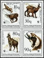 1990, Albanien, 2423-26, ** - Albanien