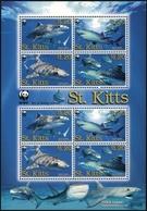 2007, St. Kitts Nevis, 955-58 KB ZD, ** - St.Kitts Und Nevis ( 1983-...)