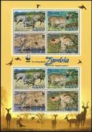 2008, Sambia, 1606-09 KB ZD, ** - Zimbabwe (1980-...)