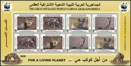 2008, Libyen, 2916-19 KB ZD, ** - Libyen