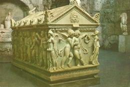 SARCOFAGO ROMANO. TURQUIA. SIDE MUSEUM. - Antigüedad