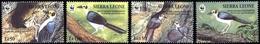 1994, Sierra Leone, 2171-74, ** - Sierra Leone (1961-...)