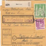 BiZone Paketkarte 1948: Rott (Inn) Nach Eglfing B. München - Gemeinschaftsausgaben