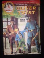 Oliver Twist Charles Dickens ILLUSTRATED - TURKISH EDITION Milliyet -1992 Turkish-English - Livres, BD, Revues