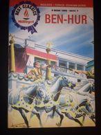 LEW WALLACE - BEN-HUR - JEWISH - ILLUSTRATED - TURKISH EDITION Milliyet -1992 Turkish-English - Books, Magazines, Comics