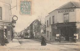 CPA NEUILLY PLAISANCE 93 - Avenue De La Station - Neuilly Plaisance