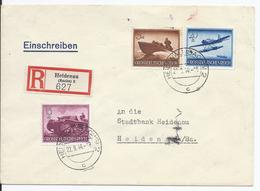 DT- Reich (000675) Einschreiben Wehrmacht II Mit Den MNR 873, 880, 882, Gelaufen Am 22.9.1944 Als Ortseinschreiben - Deutschland