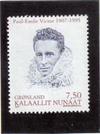 V8 - PO 476 ** Portrait De PAUL-EMILE VICTOR. - Groenland