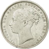 Monnaie, Grande-Bretagne, Victoria, Shilling, 1880, TTB, Argent, KM:734.4 - 1816-1901 : Frappes XIX° S.