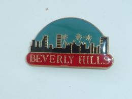 Pin's BEVERLY HILLS - Villes
