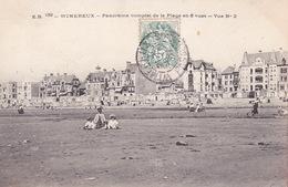 CPA - 62 - WIMEREUX - Panorama Complet De La Plage En 5 Vues - Vue N°2 - France