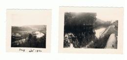 Lot De 2 Photos ( +/- 6 X 6  Et 6 X 9 Cm ) HONY  En 1942 (b187) - Orte
