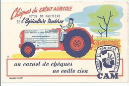 BUVARD CREDIT AGRICOLE CAM - Agriculture