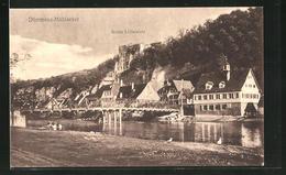 AK Dürrmenz-Mühlacker, Flussbrücke Und Ruine Löffelstelz - Mühlacker
